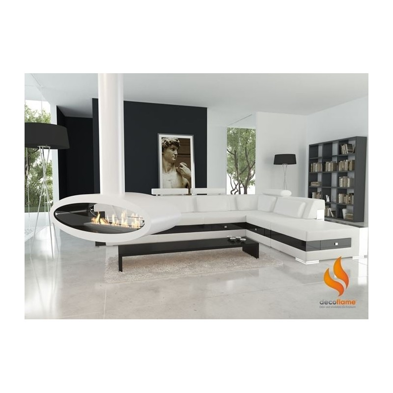 cheminee bio ethanol suspendue. Black Bedroom Furniture Sets. Home Design Ideas
