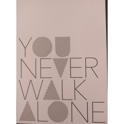 "Carte Postale ""You Never Walk Alone"" - Räder"