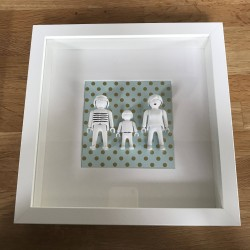 Tableau Playmo Happy Family 3 personnages