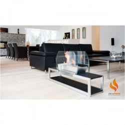 Cheminee design au bio-ethanol Chicago de Decoflame